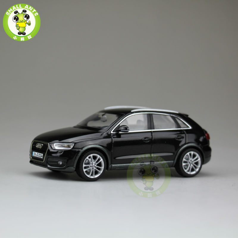 1:43 Audi Q3 Diecast Car Suv Model Black-in Diecasts & Toy