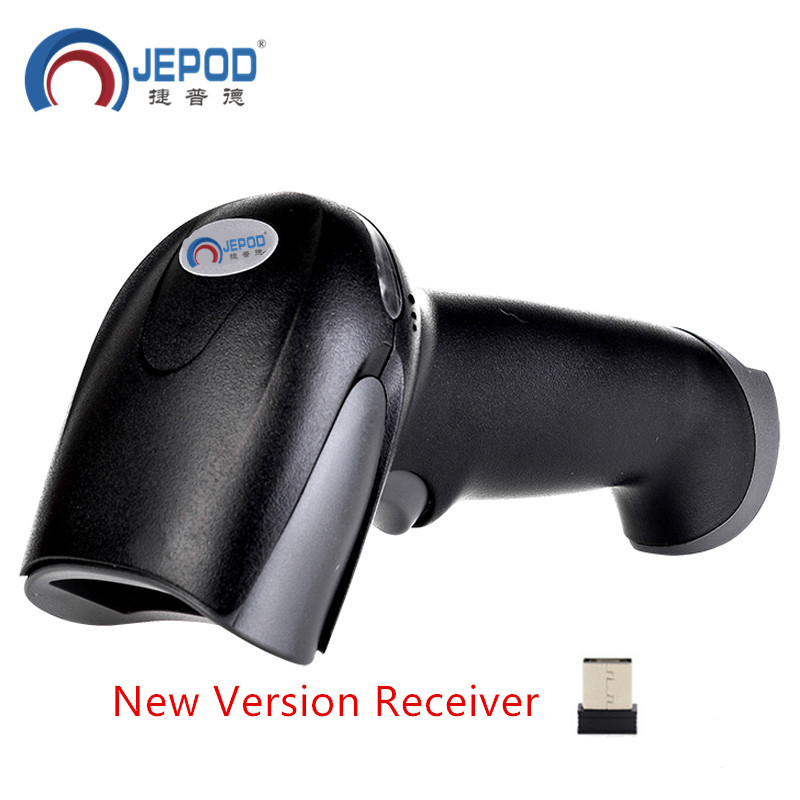 JP-A2 Wireless barcode scanner gun express supermarket didedikasikan tunggal Toko Ritel bar code reader barcode scanner