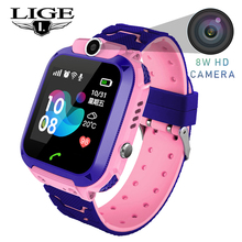 Get more info on the LIGE 2019 New Children Watch LBS Secure Base Station Positioning Tracking SOS Emergency Call Children Smart Watch Children Gift