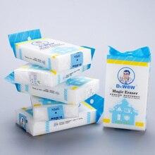 20 pièces/lot mélamine éponge magique éponge 12x7x2.5cm éponge gomme unique paquet cuisine salle de bain nettoyage gomme