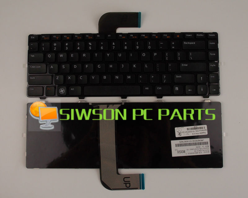 New for Dell VOSTRO 2420 3350 3560 3460 Inspiron M5040 M5050 laptop Keyboard
