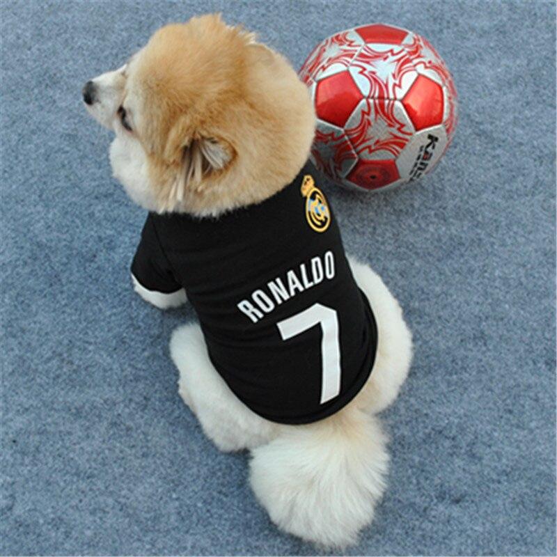 Товары для домашних животных Cat Dog Vest 7 Печатный Щенок Рубашка Пальто Pet Летняя Одежда Костюмы Повседневная Спортивный Стиль Одежда Для Собак