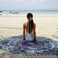 2017 new woemn scarf Round bandana from india  Sunscreen Beach towels Prototype fringed shawl Pashmina  Summer beach essential