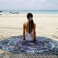 2017 nova woemn rodada cachecol bandana da índia protótipo de toalhas de praia protetor solar xale de franjas pashmina summer beach essencial