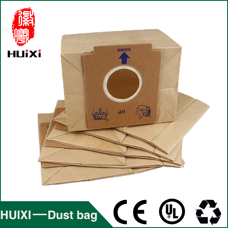 15 pcs 50 mm Universal Paper Dust Bags Vacuum Cleaner Change Bags Of Vacuum Cleaner Accesoiees For ZC1120 ZC1120BZC1120R etc 15 pcs vacuum cleaner paper dust bags
