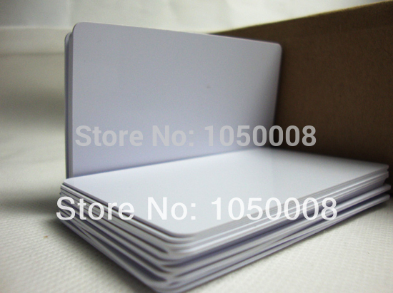 230pcs/lot Inkjet Printable blank PVC card for Epson printer, Canon printer credit card size 230pcs lot printable blank inkjet pvc id cards for canon epson printer p50 a50 t50 t60 r390 l800
