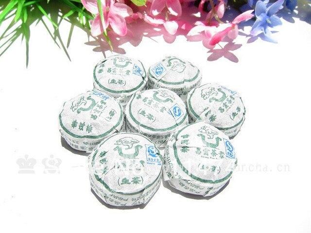 ChangYun мини tuocha юньнань Оригинальный Вкус Сырье Китайский Чай Пуэр для Здоровья Похудения Тело пуэр пуэр Небольшой Tuo Этнических чай 50 шт.