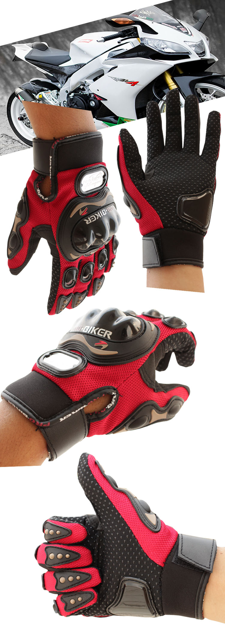 motorcycle gloves color2