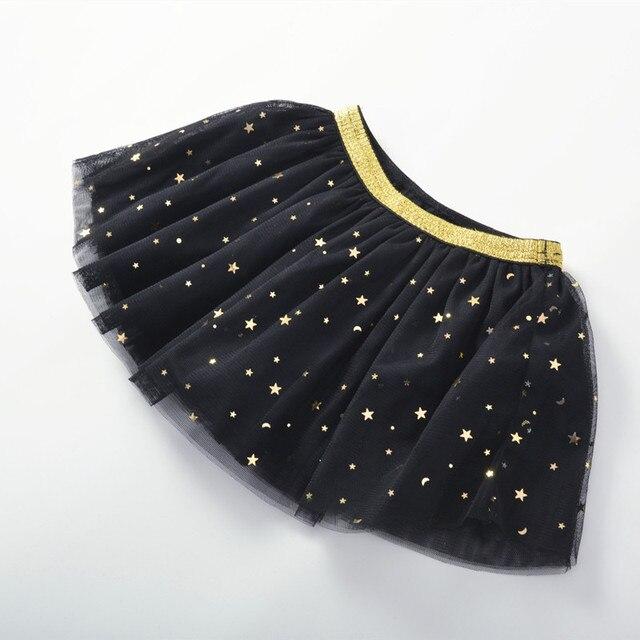 Baby Girl's Skirt with Glitter Stars 3