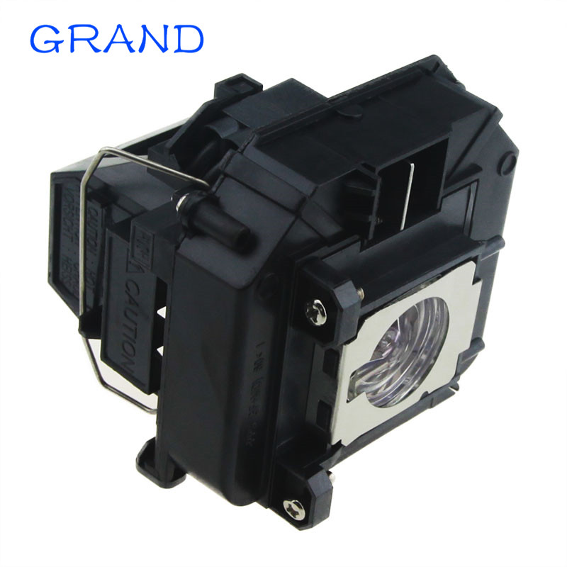 Replacement Projector Lamp ELPLP64 For EPSON EB-1840W/EB-1850W/EB-1870/EB-1880/EB-D6155W/EB-C720XN With Housing HAPPY BATE
