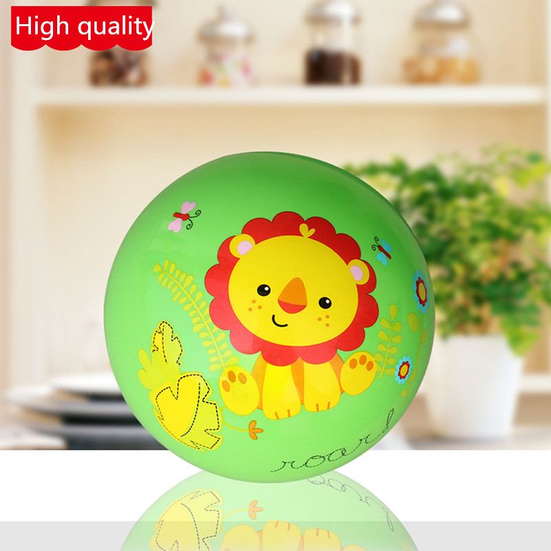 Toy ball 9 inch childrens environmental inflatable thickening baby pat shooting kindergarten ball racket