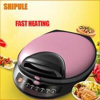 SHIPULE Electric Crepe Maker Pizza Machine Pancake Machine Cooking Tools