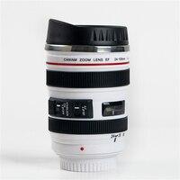 400ML Creative Camera Lens Shape Cup Coffee Tea Travel Mug Stainless Steel Vacuum Flasks Stylish Thermocup