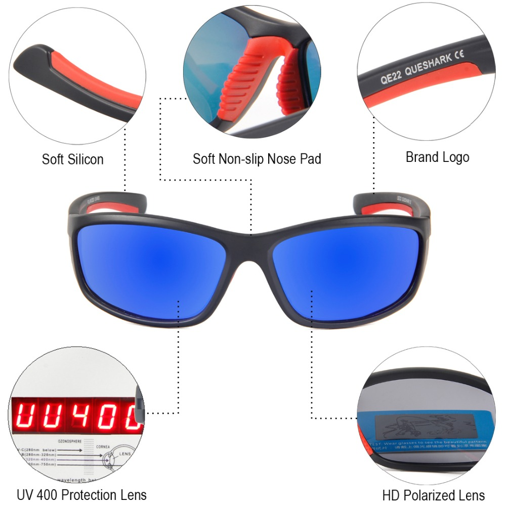 5bb47af1e6 Men Women Polarized Sunglasses Cycling Eyewear Bicycle Goggles Outdoor  Driving Riding MTB Road Bike Hiking Fishing Sport Glasses-in Cycling Eyewear  from ...