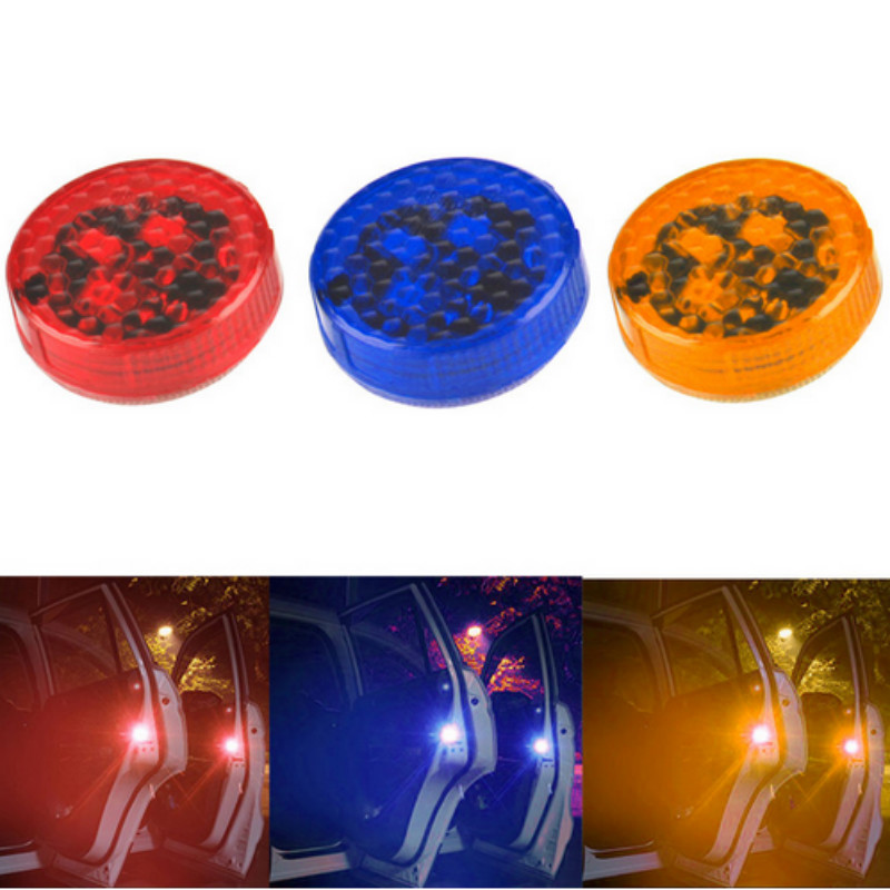 4pcs LED 12V Security Signal Warning Red Yellow Blue Light FOR VW Golf 5 6 7 Passat B5 B6 B7 T5 Touran Jetta MK5 MK6 MK7 CC