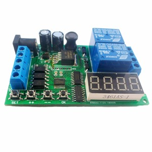 Image 4 - 5V 9V 12V 24V DC/AC Motor Controller Relay Board Forward Reverse Control Automatic Timing Delay Cycle Limit Start Stop Switch