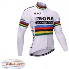 UCI BORA Winter Thermal Fleece Long Sleeve Cycling jersey Bike Clothing  Wear Maillot Ropa Ciclismo Uniformes MTB Bicycle Clothes 3cc2b804e