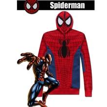 Hero Catcher  Red Spiderman Hoodie Spiderman Jacket With Hood High Quality Brands Spiderman Hoodie