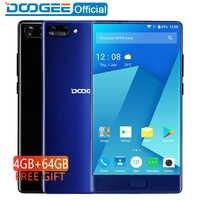 DOOGEE MIX 4GB + 64GB bisel menos Smartphone Cámara Dual 5,5 AMOLED MTK Helio P25 Octa core teléfonos móviles
