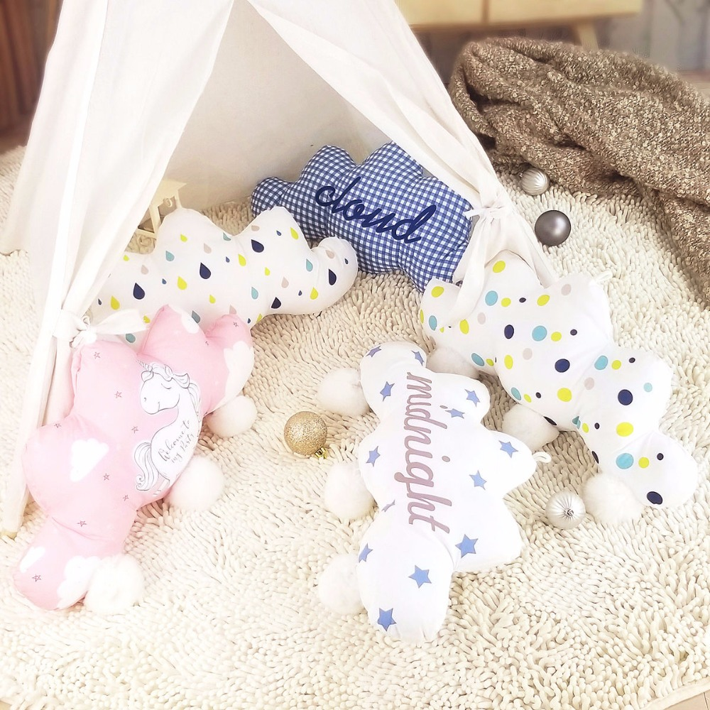 Cute Sky Series Soft Plush Toys Kawaii Bedroom Home Christmas Decor Hanging Pillow Cushion Toys For Children Girls Friends Gifts