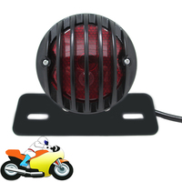 Motorcycle LED Brake Tail Light Motorbike Quads Rear Lamp License Plate Light For Honda Ducati Yamaha