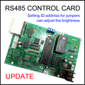 Main Control Card, Rs485 Communication ,led Digital Numbres Module, Can Adjust The Brightness, Setting Id Address For Jumpers