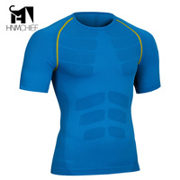 2017 Compression Shirt 3D T Shirt Fitness Tights Casual Shirts Brand Clothing Shaping Plastic Suit Soft