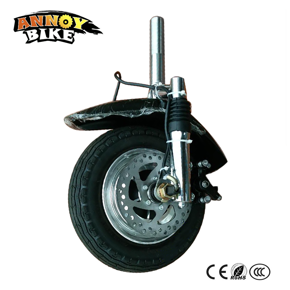 Electric Bicycle Motor Wheel 10'' 36V 350W 30km/h 10 inch Brushless Hub Motor Gearless Electric Scooter Drive kit With Accessory