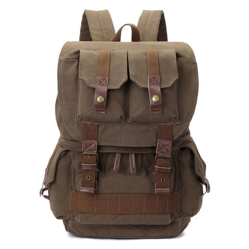 все цены на Obrother 8033# Shockproof Camera Backpack for Canon DSLR Portable Vintage Canvas SLR bag Rucksack Bag Photography Shoulder Bags онлайн