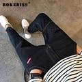 2016 otoño Marea productos balman Harlan Delgado Triangular hierro Accesorios pantalones hombres Nuevos modelos Básicos homme pantalon jeans C24