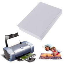 100 листов 3R Глянцевая Фотобумага для струйных принтеров фото студия фотограф изображений Печать Бумага
