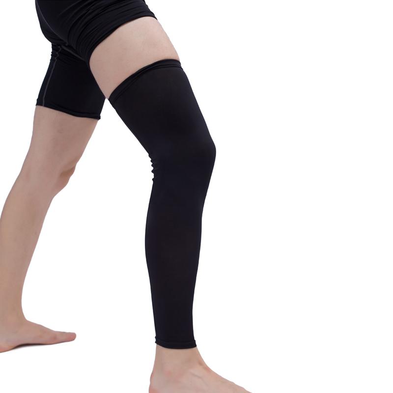 c862c30206 1Pcs Leg Compression Sleeve Men Youth Basketball - Sports Footless Calf  Compression Socks Knee Brace Support Helps Arthritis - a.mariuszkobiela.me