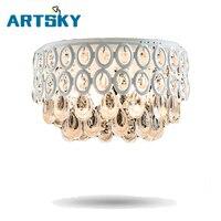 Американский Европейский Простой Потолочные светильники теплый гостиная спальня персональный потолочная лампа для ресторана