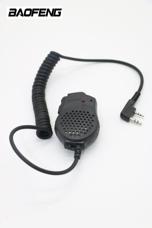 BAOFENG Double PPT haut-parleur MIC Microphone pour talkie walkie baofeng UV-82 UV-82HX UV-5R, UV-5RA, UV-5RE, UV-B5, UV-B6, UV-3R + radio