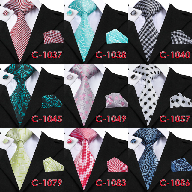 100% Jacquard Woven Silk Necktie For Men