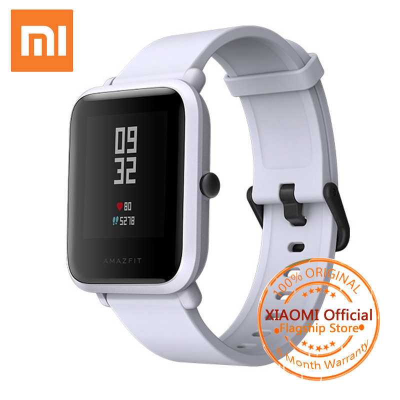 Xiaomi Amazfit Bip Smart Watch English Version Huami Amazfit Bip Pace Lite GPS Smartwatch 45 Days IP68 Men Women Sport Watches