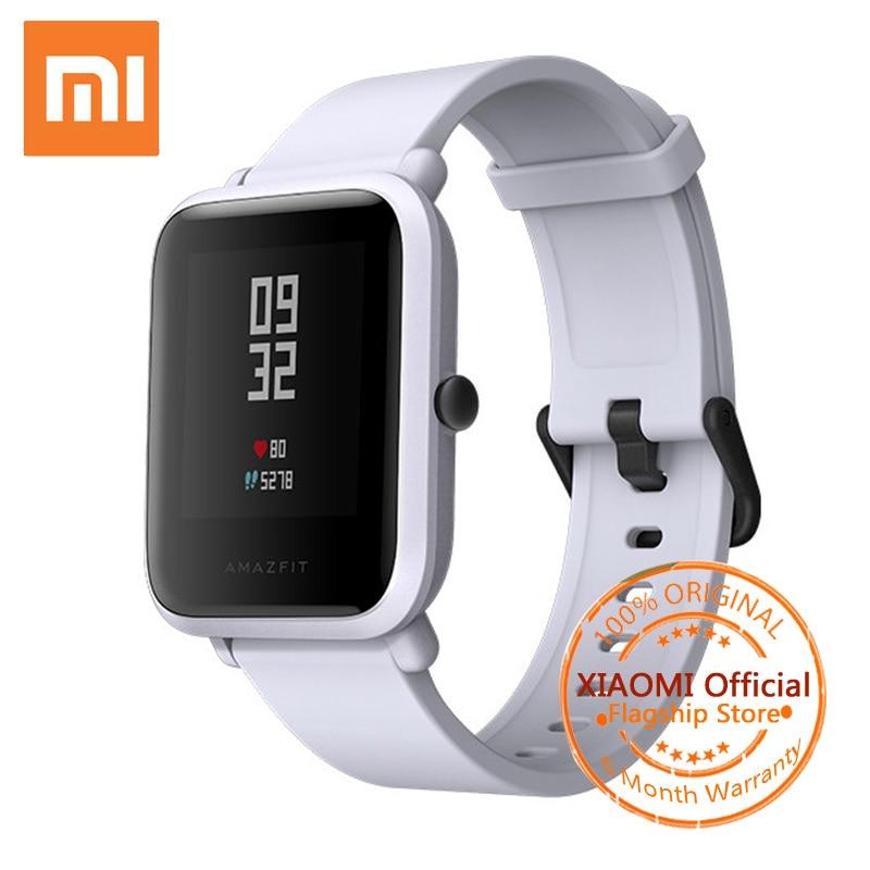 Xiaomi Amazfit Bip Smart Watch Anglès Huami Amazfit Bip Pace Lite GPS Smartwatch 45 Days IP68 Home Dona Rellotges esportius