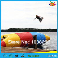 Free Shipping lowest price Inflatable Water Pillow Water Blob Jump for sale with free CE/UL pump and repair kit
