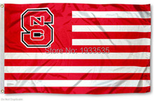 NC State Wolfpack University for Alumni Nation Flag Banner 6725fdc2e
