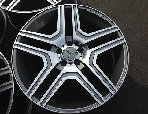 Buy 22 amg g63 style wheels rims fits for Mercedes benz ml320 tires