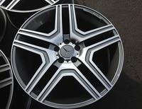 4 New 22x10 Rims Wheels For MERCEDES BENZ AMG RIMS WHEELS 48mm Alloy Wheel Rims W824