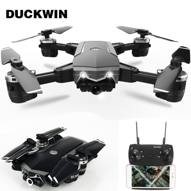 RC Dron With Wifi FPV Rc Quadcopter Mini Camera Foldable Selfie Drone JD20S Drones HD Camera High Hold Mode Foldable Jd 20S