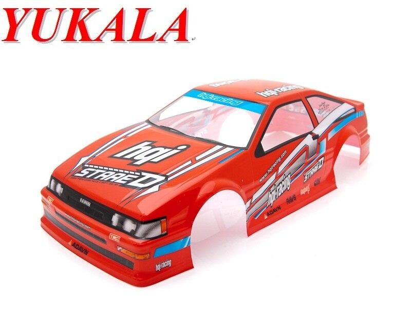 ᐊyukala 1 10 Rc Car Body Shell 1 10 Pvc Painted Body Shell 200mm