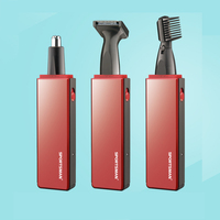 SPORTSMAN 3 w 1 Elektryczny Nosa Włosów Mężczyźni Kobiety Z Urządzenia Skrobanie Cut Mężczyzna Nosa Nosa Nożyczki Do Włosów