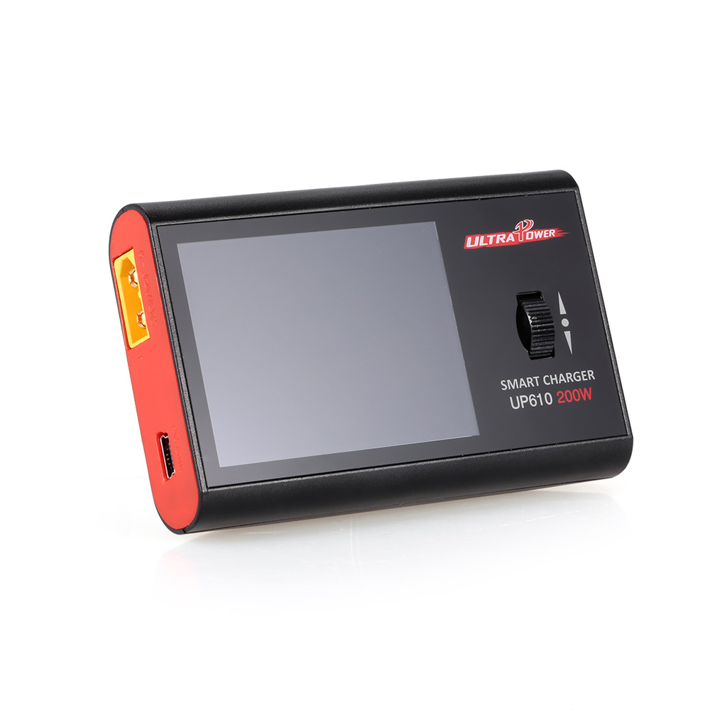 Chargeur intelligent Portable de poche UP610 200 W pour Drone RC quadrirotor voiture 1-6 S Lipo batterie 1-16 S NiCd NiMH batterie chargeur RC
