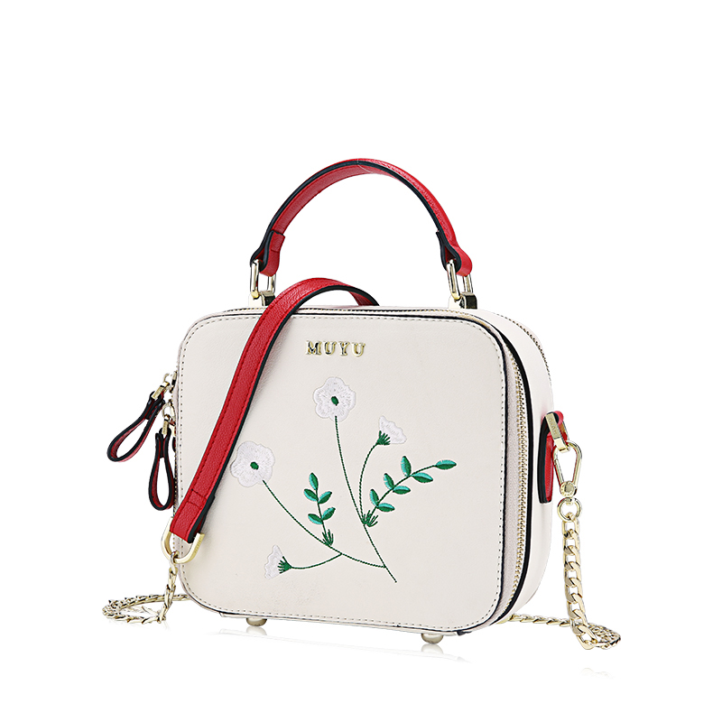 Branches Cuir Sacs Femme Femmes Art En Vert Bag Messenger Artisanat Braccialini Emballages Fille Bandoulière De À Style Broderie Main q551HUnA