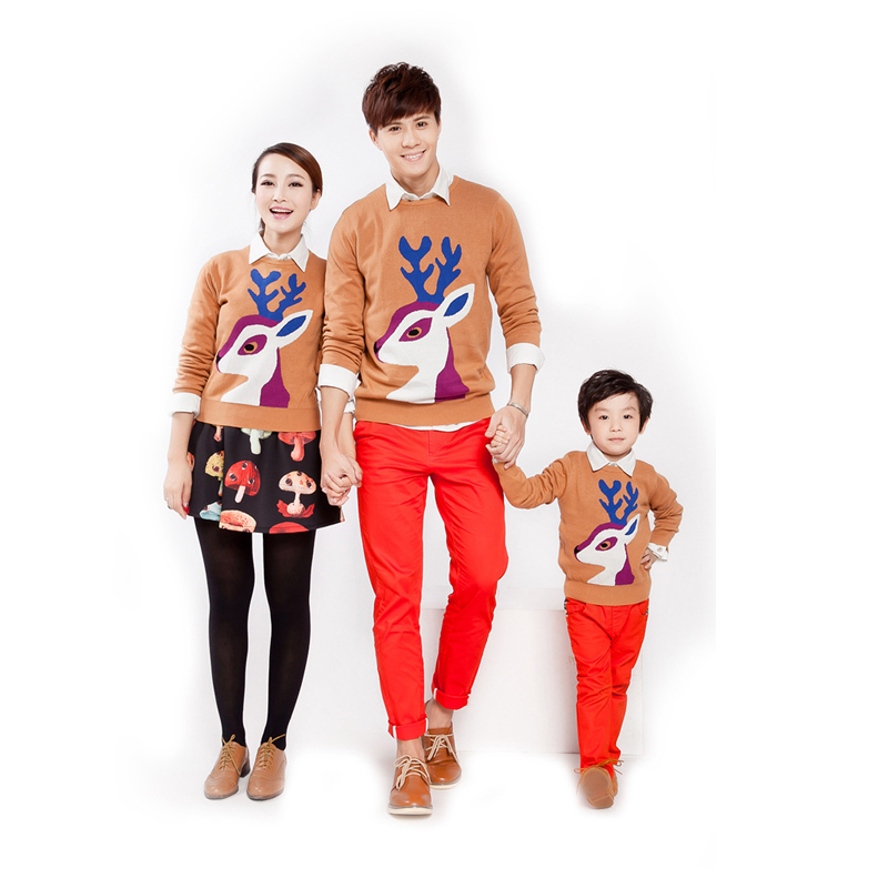 Aliexpress.com : Buy Family clothing family set Christmas sweaters ...
