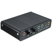 Brand New USB Sound Card 4 Channel 5 1 Audio Sound Card External Optical Adapter Optical