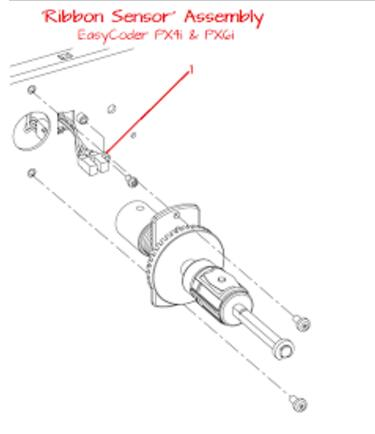 Intermec EasyCoder PX4i Thermal Printe ribbon sensor_PX4I