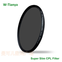 WTIANYA 105mm CPL Filter PL CIR Polarizing Filter For DLSR 105mm Lens For Nikon Canon Pentax